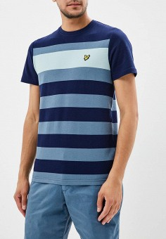 Футболка, Lyle & Scott, цвет: синий. Артикул: LY001EMAKLR7. Lyle & Scott