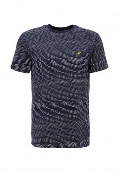 Футболка, Lyle & Scott, цвет: синий. Артикул: LY001EMWXF67. Lyle & Scott