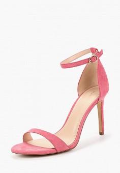 Босоножки, Mango, цвет: розовый. Артикул: MA002AWBQYV3. Обувь / Босоножки