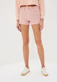 Шорты, Mango, цвет: розовый. Артикул: MA002EWCGJO1. Одежда