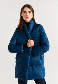 Куртка утепленная Mango 67021001, цвет синий