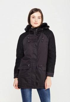 Куртка утепленная, Mavi, цвет: черный. Артикул: MA008EWVVU34. Одежда / Верхняя одежда