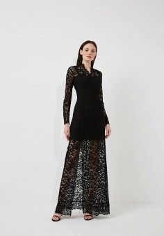 Платье, Marciano Los Angeles, цвет: черный. Артикул: MA087EWARDB2. Premium / Одежда / Платья и сарафаны