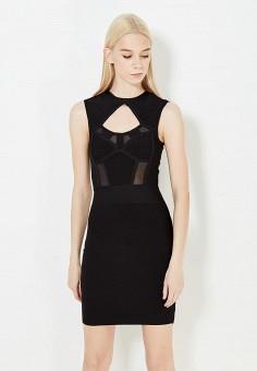 Платье, Marciano Los Angeles, цвет: черный. Артикул: MA087EWVPK30. Premium / Одежда / Платья и сарафаны