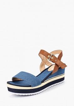 Босоножки, Max Shoes, цвет: синий. Артикул: MA095AWBSRT3. Обувь