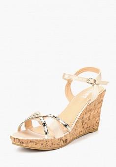 Босоножки, Max Shoes, цвет: бежевый. Артикул: MA095AWBSRT6. Обувь / Босоножки
