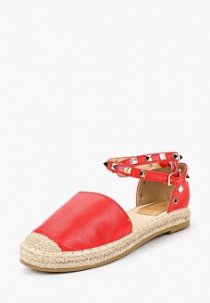 Эспадрильи, Max Shoes, цвет: красный. Артикул: MA095AWBSRU2. Обувь