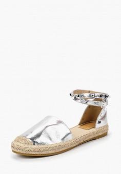 Эспадрильи, Max Shoes, цвет: серебряный. Артикул: MA095AWBSRU3. Обувь