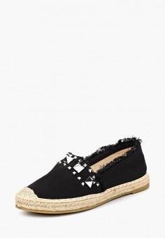 Эспадрильи, Max Shoes, цвет: черный. Артикул: MA095AWBSRU9. Обувь