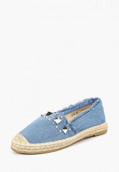 Эспадрильи, Max Shoes, цвет: синий. Артикул: MA095AWBSRV0. Обувь