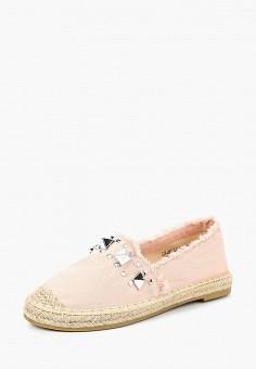 Эспадрильи, Max Shoes, цвет: розовый. Артикул: MA095AWBSRV1. Обувь