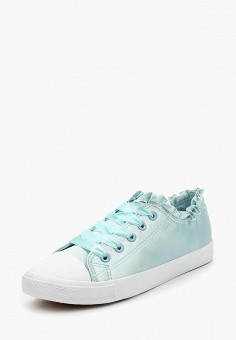 Кеды, Malien, цвет: бирюзовый. Артикул: MA098AWAWCN0. Обувь