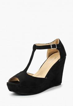 Босоножки, Malien, цвет: черный. Артикул: MA098AWBLSW8. Обувь / Босоножки