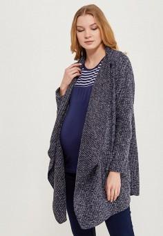 Пальто, Mamalicious, цвет: синий. Артикул: MA101EWZWJ58. Одежда / Верхняя одежда / Пальто