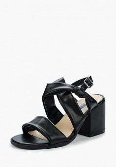 Босоножки, Martin Pescatore, цвет: черный. Артикул: MA108AWBIUQ3. Обувь / Босоножки
