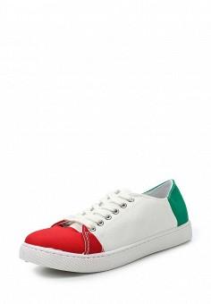 Кеды, Martin Pescatore, цвет: мультиколор. Артикул: MA108AWRVE05. Обувь / Кроссовки и кеды