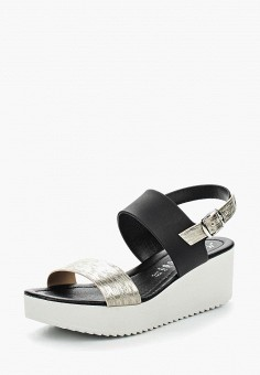 Босоножки, Martin Pescatore, цвет: черный. Артикул: MA108AWTAN52. Обувь / Босоножки