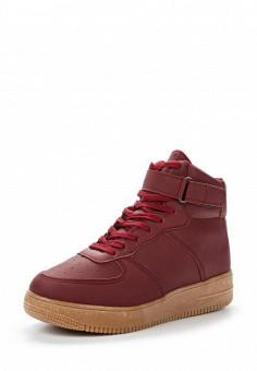 Кеды, Martin Pescatore, цвет: бордовый. Артикул: MA108AWVGL56. Обувь / Кроссовки и кеды