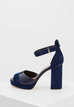 Босоножки, Max&Co, цвет: синий. Артикул: MA111AWZUS29. Premium / Обувь / Босоножки