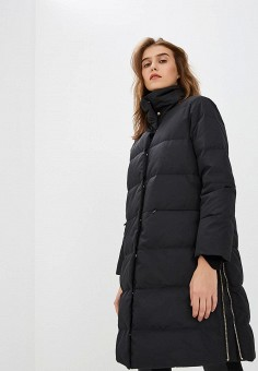Пуховик, Max&Co, цвет: черный. Артикул: MA111EWBYAL3. Одежда / Верхняя одежда / Зимние куртки