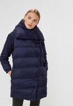 Пуховик, Max&Co, цвет: синий. Артикул: MA111EWBYAL5. Premium / Одежда / Верхняя одежда / Зимние куртки