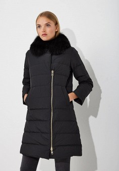 Пуховик, Max&Co, цвет: черный. Артикул: MA111EWBYAL8. Одежда / Верхняя одежда / Зимние куртки