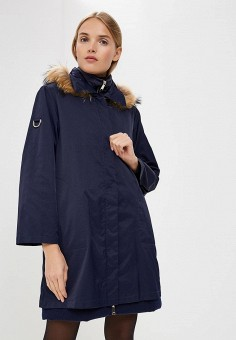 Пуховик, Max&Co, цвет: синий. Артикул: MA111EWBYAM3. Premium / Одежда / Верхняя одежда / Зимние куртки