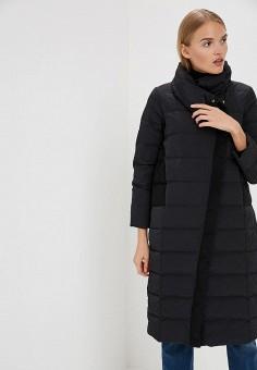 Пуховик, Max&Co, цвет: черный. Артикул: MA111EWBYAM4. Одежда / Верхняя одежда / Зимние куртки