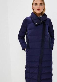 Пуховик, Max&Co, цвет: синий. Артикул: MA111EWBYAM5. Одежда / Верхняя одежда / Зимние куртки