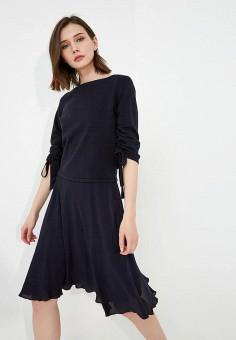 Платье, Max&Co, цвет: синий. Артикул: MA111EWZUN56. Одежда / Платья и сарафаны