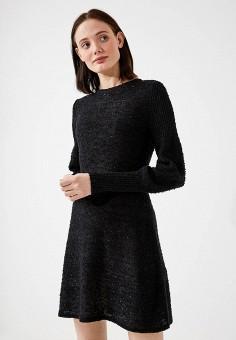 Платье, Max&Co, цвет: черный. Артикул: MA111EWZUN58. Одежда / Платья и сарафаны
