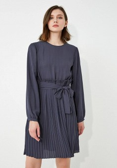 Платье, Max&Co, цвет: серый. Артикул: MA111EWZUN63. Одежда / Платья и сарафаны