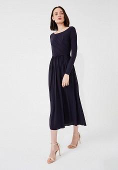 Платье, Max&Co, цвет: синий. Артикул: MA111EWZUN64. Одежда / Платья и сарафаны