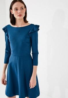 Платье, Max&Co, цвет: бирюзовый. Артикул: MA111EWZUN65. Одежда / Платья и сарафаны