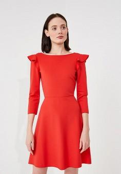 Платье, Max&Co, цвет: красный. Артикул: MA111EWZUN66. Premium / Одежда / Платья и сарафаны