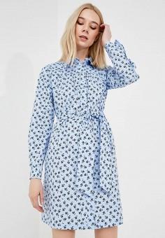 Платье, Max&Co, цвет: голубой. Артикул: MA111EWZUP00. Одежда / Платья и сарафаны
