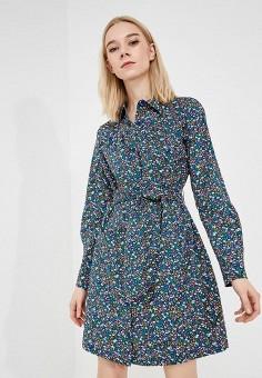 Платье, Max&Co, цвет: синий. Артикул: MA111EWZUP01. Одежда / Платья и сарафаны