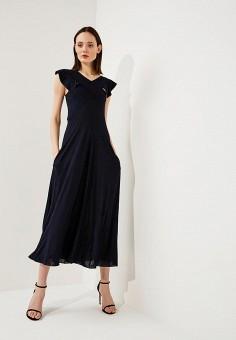Платье, Max&Co, цвет: синий. Артикул: MA111EWZUP03. Одежда / Платья и сарафаны