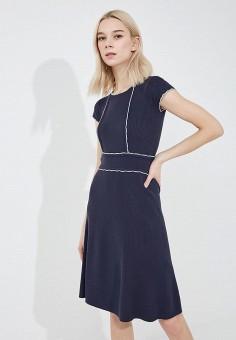 Платье, Max&Co, цвет: синий. Артикул: MA111EWZUP05. Одежда / Платья и сарафаны