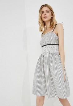 Сарафан, Max&Co, цвет: белый. Артикул: MA111EWZUP07. Одежда / Платья и сарафаны