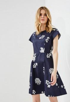Платье, Max&Co, цвет: синий. Артикул: MA111EWZUP08. Одежда / Платья и сарафаны