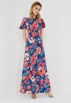 Платье, Max&Co, цвет: мультиколор. Артикул: MA111EWZUP11. Одежда / Платья и сарафаны