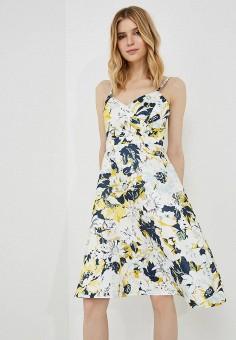 Платье, Max&Co, цвет: мультиколор. Артикул: MA111EWZUP12. Одежда / Платья и сарафаны