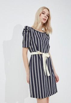 Платье, Max&Co, цвет: синий. Артикул: MA111EWZUQ58. Одежда / Платья и сарафаны