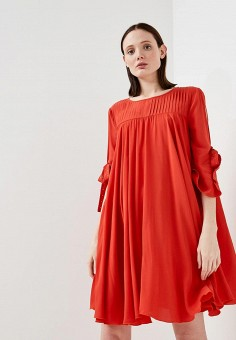 Платье, Max&Co, цвет: красный. Артикул: MA111EWZUQ92. Одежда / Платья и сарафаны