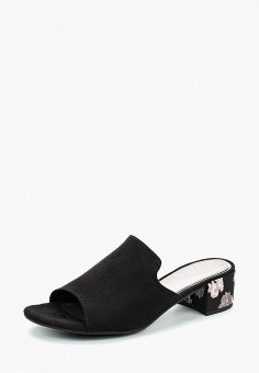 Сабо, Marco Tozzi, цвет: черный. Артикул: MA143AWAGAG4. Обувь