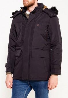 Куртка утепленная, Mastice, цвет: черный. Артикул: MA152EMXXK54. Одежда / Верхняя одежда / Пуховики и зимние куртки