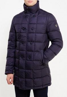 Пуховик, Madzerini, цвет: синий. Артикул: MA156EMXMX31. Одежда / Верхняя одежда / Пуховики и зимние куртки