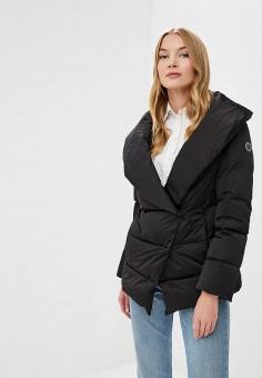 Пуховик, Madzerini, цвет: черный. Артикул: MA156EWCJZQ7. Одежда / Верхняя одежда / Зимние куртки