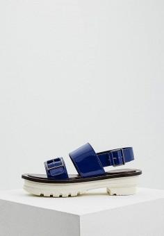 Босоножки, Marni, цвет: синий. Артикул: MA177AWZSR44. Premium / Обувь / Босоножки